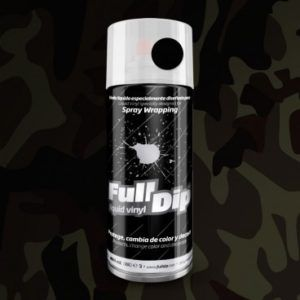 FULL DIP NEGRO MILITAR Spray 400ML